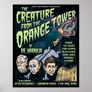 Pôster Criatura do Dr. Naranja