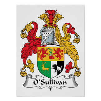Poster Crista da família de O'Sullivan