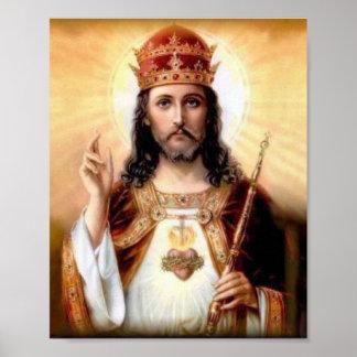 Pôster Cristo o rei