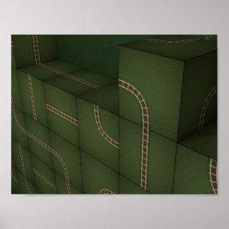 Pôster Cubos de Metris