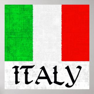 Poster da BANDEIRA de ITALIA