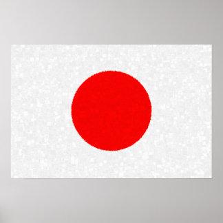 Poster da BANDEIRA de JAPÃO