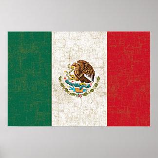 Poster da BANDEIRA MEXICANA