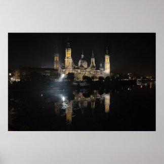 Poster da Basílica de Zaragoza