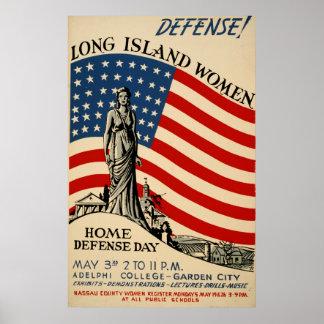 Poster da Biblioteca do Congresso das mulheres de