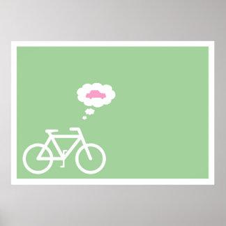 Poster da bicicleta