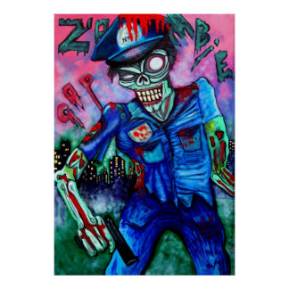 Poster da bobina do zombi pôster
