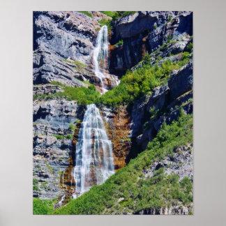 Poster da cachoeira #1a- de Utá (escolha o Pôster