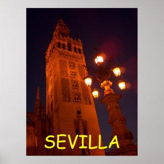Poster da Catedral-Espanha de Sevilha