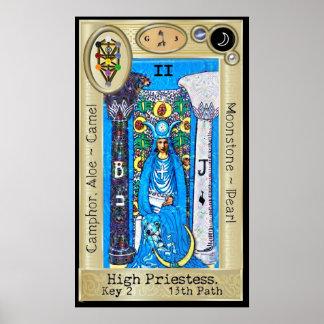 Pôster ~ da chave 2 de Ifdawn Deepdream Tarot a