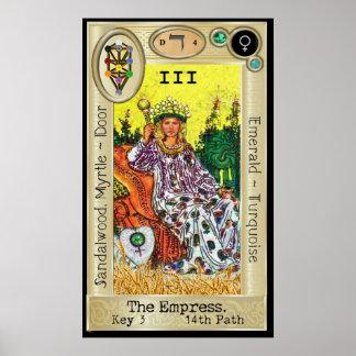Pôster ~ da chave 3 de Ifdawn Deepdream Tarot a