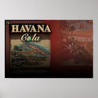 Poster da cola de Havana Pôster