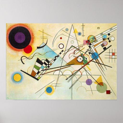 Poster da composição VIII de Kandinsky