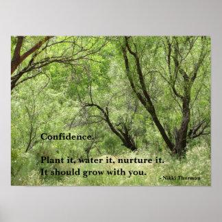 Poster da confiança