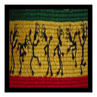 poster da dança da reggae