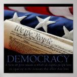 Poster da democracia