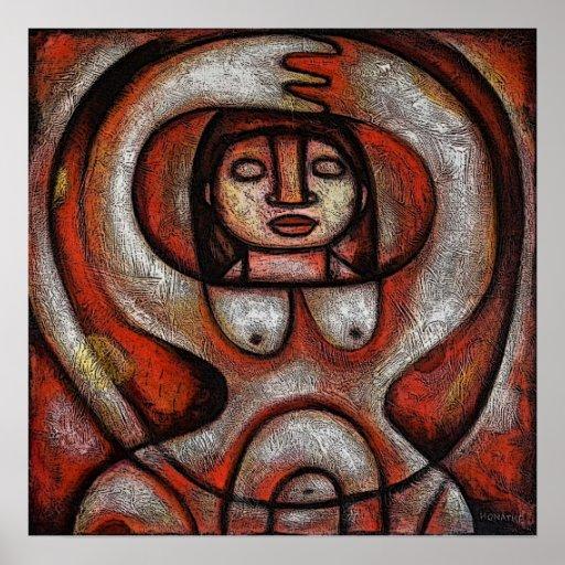 Poster da deusa (fertilidade)