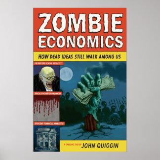 Poster da economia do zombi pôster