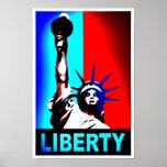 Poster da estátua da liberdade