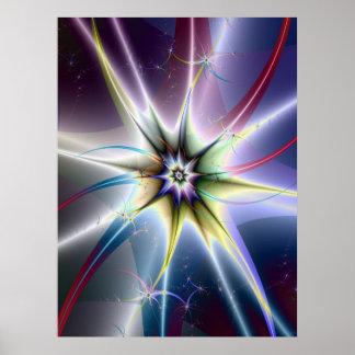 Poster da explosão da estrela