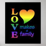 Poster da família do arco-íris