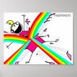 Poster da felicidade