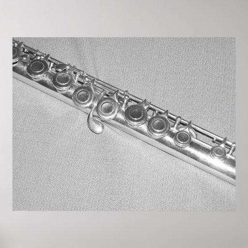 Poster da flauta