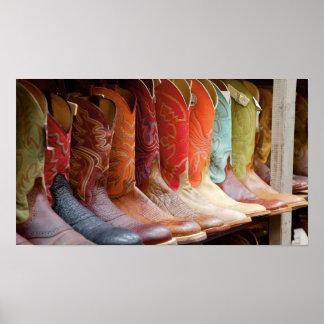 Poster da formação das botas de vaqueiro