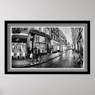 """Poster Da """"foto da rua de B&W de Heclectic rua"""""""