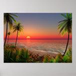 Poster da ilha do paraíso