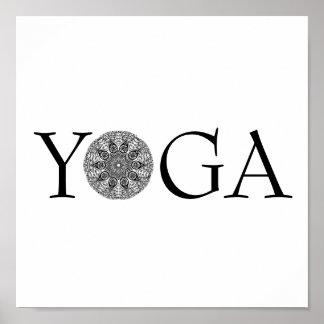 Poster da ioga pôster