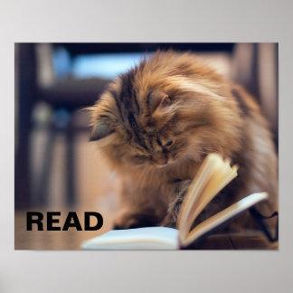 Poster da leitura para apoiar a instrução nas cria pôster