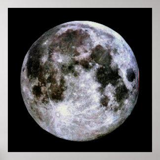 Poster da Lua cheia Pôster