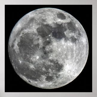 Poster da lua de Supermoon