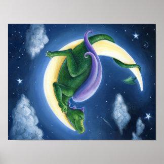 Poster da lua do dragão