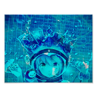 Poster da menina da água