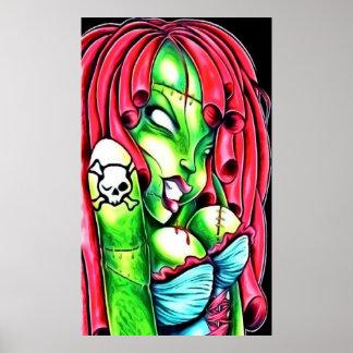 Poster da menina do zombi