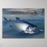 Poster da mordida do amanhecer do rei salmão