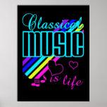 Poster da música clássica