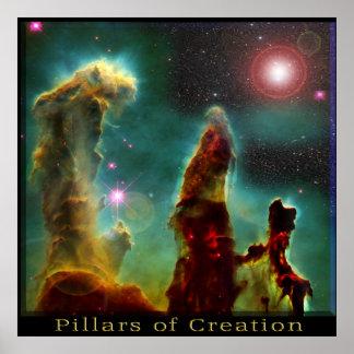 Poster da nebulosa de Eagle