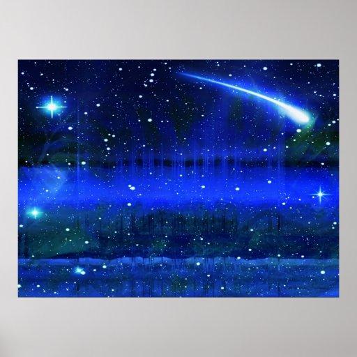 Poster da noite estrelado