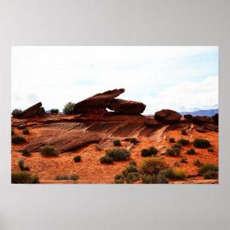 Poster da paisagem da arizona