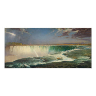 Poster da pintura de Niagara Falls Pôster