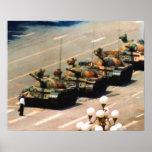 Poster da pintura do homem do tanque