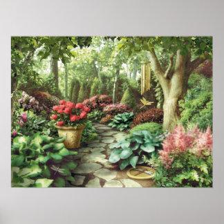 "Pôster Da ""poster do jardim libélula"" de Alan Giana"