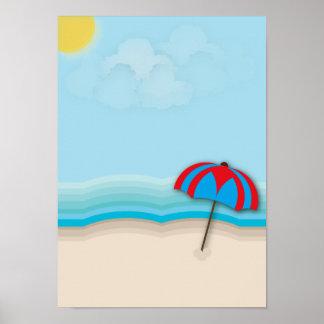 Poster da praia
