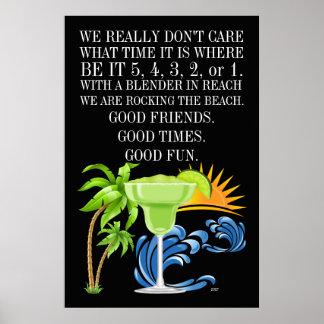 Poster da praia de Marguerita (Margarita) Pôster