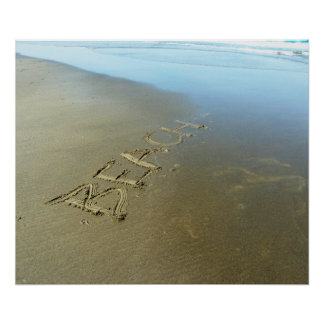 Poster da praia pôster