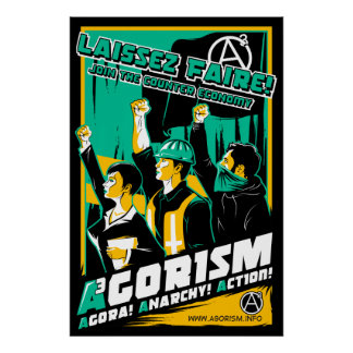 Poster da propaganda de Agorism