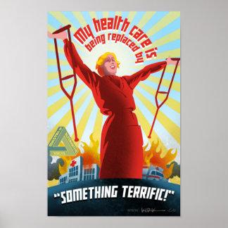 Poster da propaganda de TrumpCare